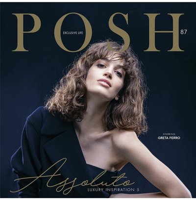 Greta Ferro for POSH COVER