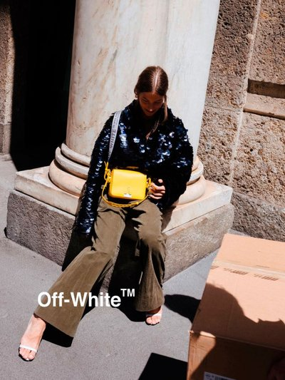 Off-White™ Binder Clip Bag